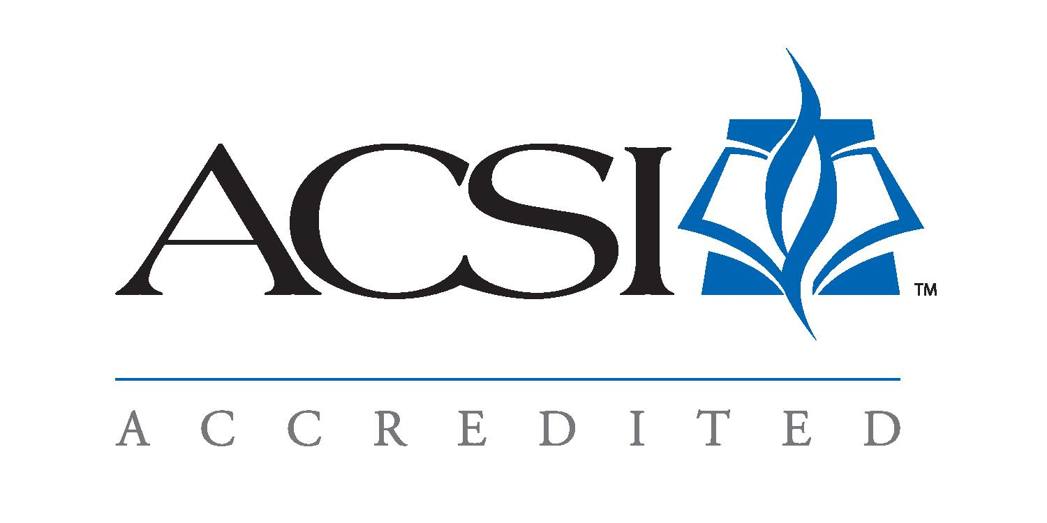 Acsi Logo Accredited on Pre K